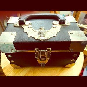 Handbags - Unique bat 90s inspired box handbag goth gothic